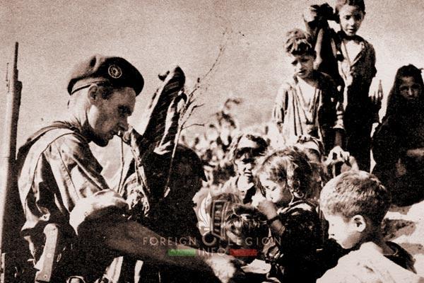 2e REP - 2 REP -  Parachute Regiment - El Milia - legionnaire - 1957