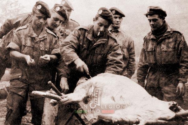 2e REP - 2 REP - Algeria - El Milia - legionnaires - 1958