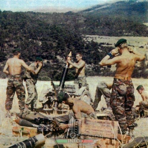 2e REP - 2 REP - Algeria - Guelma - mortars - 1958