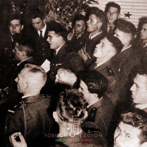 2e REP - 2 REP - Algeria - Noel - Christmas Eve - 1958