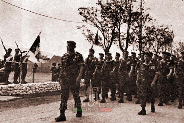 2e REP - 2 REP - Algeria - Telergma - Camerone - 1962