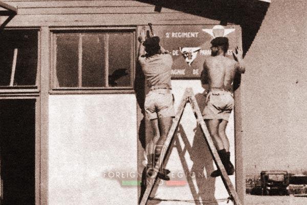 2e REP - 2 REP - Algeria - Telergma - Compagnie de Base - 1962