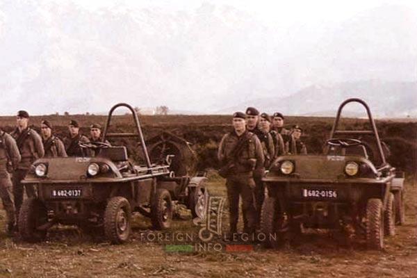 2e REP - 2 REP - LOHR Fardier - Mortar Platoon