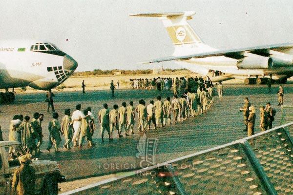 2e REP - 2 REP - Chad - Libyan prisoners - 1990