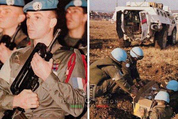 2e REP - 2 REP - Bosnia - Sarajevo - 1993
