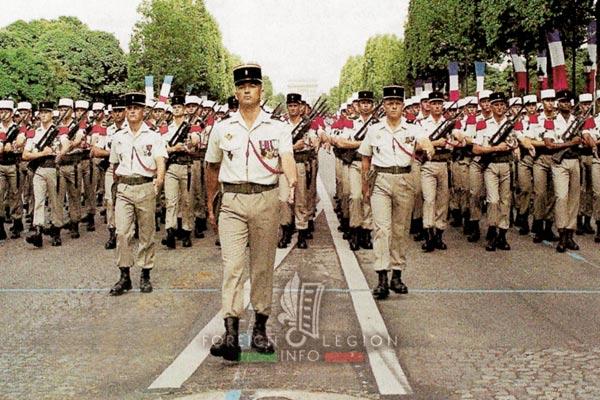 2e REP - 2 REP - Champs-Élysées - Bastille Day - 1995