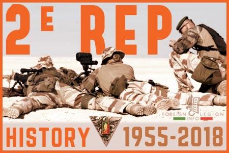 2nd Foreign Parachute Regiment - History - 2 REP - 2 BEP - L'histoire du 2e Régiment étranger de parachutistes