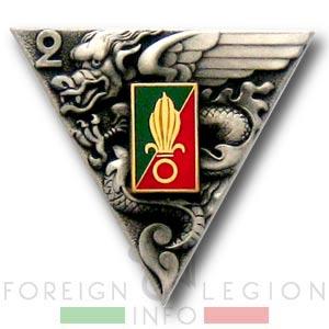 2e REP - 2 REP - Insignia - insigne - 1955