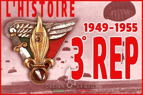 3eme régiment étranger de parachutistes - L'histoire - 3e REP