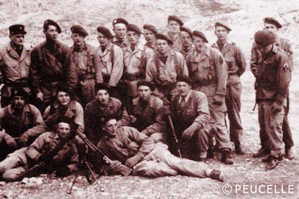 3e BEP - 3 BEP - Depot des BEP - Algeria - 1954