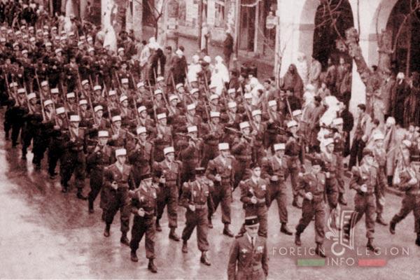 3e BEP - 3 BEP - Parade - Defile - 1952