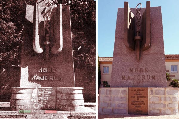 3e BEP - 3 BEP - War Memorial - Monument aux Morts - Setif - 1952