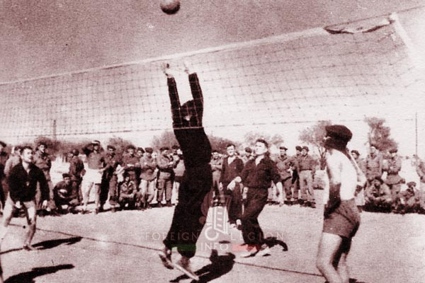 3e BEP - 3 BEP - Maroc - Dussert - Volley-ball - 1954