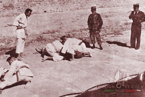 3e REP - 3 REP - Judo - Batna - Algeria - 1955