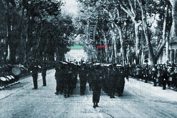3e BMLE - 3 BMLE - Foreign Legion - France - 1962 - Aix-en-Provence - Parade