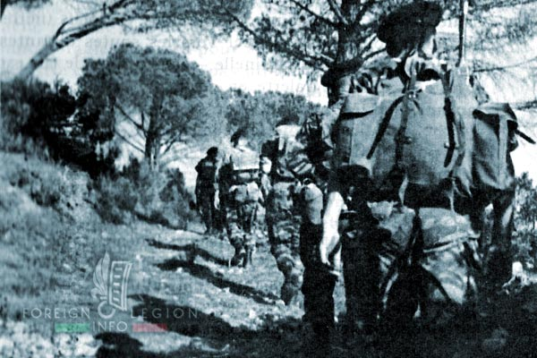 3e BMLE - 3 BMLE - Foreign Legion - France - 1962 - Exercice Caroubier