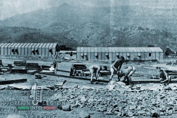 3e BMLE - 3 BMLE - Foreign Legion - Corsica - 1963 - 1st Company - Borgo