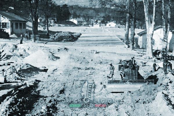 3e BMLE - 3 BMLE - Foreign Legion - France - 1963 - Aubagne - Caserne Vienot - Entry