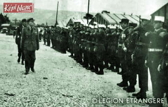 3rd Foreign Legion Task Force - 3e BMLE 1963