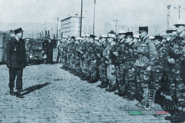 3e BMLE - 3 BMLE - Foreign Legion - France - 1963 - Major Hautecœur - 1st Company - Marseille