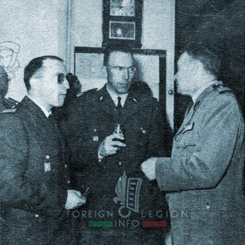 3e BMLE - 3 BMLE - Foreign Legion - France - 1963 - Aubagne - Major Hautecœur - Major Halftermeyer - Colonel Vadot