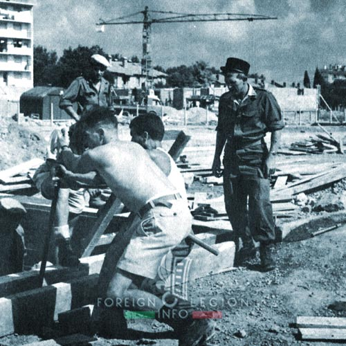 3e BMLE - 3 BMLE - Foreign Legion - France - 1964 - Montpellier - EMI