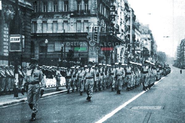 3e BMLE - 3 BMLE - Foreign Legion - France - 1964 - Marseille - Bastille Day - Halftermeyer