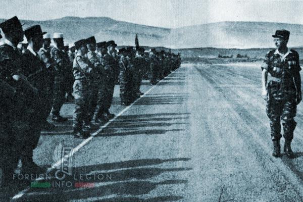 3e REI - 3 REI - Foreign Legion - Algeria - 1962 - EMT 1 - Major Hautecœur