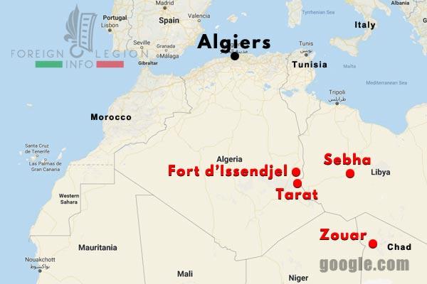3 CSPL - Saharan Company - Compagnie Saharienne - Foreign Legion Etrangere - 1949-56