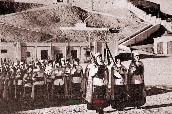 3e CSPL - 3 CSPL - Fort Leclerc - Sebha - Fezzan - Libya - Foreign Legion Etrangere - 1953