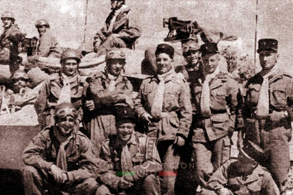 3e CSPL - 3 CSPL - Armored Platoon - Fezzan - Libya - Foreign Legion Etrangere - 1954