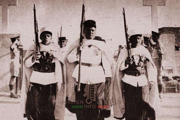 3e CSPL - 3 CSPL - Fanion Guard - Tobruk - Libya - Foreign Legion Etrangere - 1955