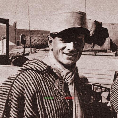 3e CSPL - 3 CSPL - Legionnaire - Djellaba - Fezzan - Libya - Foreign Legion Etrangere - 1955