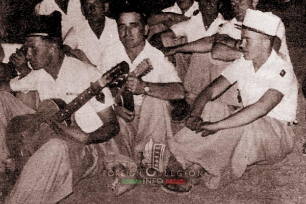3e CSPL - 3 CSPL - Camerone - Sebha - Libya - Foreign Legion Etrangere - 1956