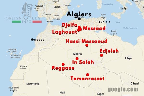 3 CSPL - Saharan Company - Compagnie Saharienne - Foreign Legion Etrangere - Algeria - Algerie - 1957-63