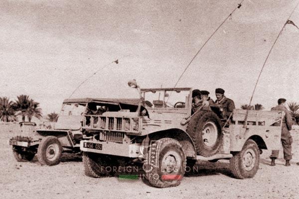3e CSPL - 3 CSPL - Jeep - Dodge - Algeria - Foreign Legion Etrangere - 1959