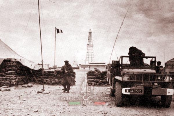 3e CSPL - 3 CSPL - Oil Field - Algeria - Foreign Legion Etrangere - 1959