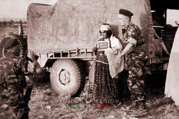 3e CSPL - 3 CSPL - Registration - Nomadic persons - Algeria - Foreign Legion Etrangere - 1961