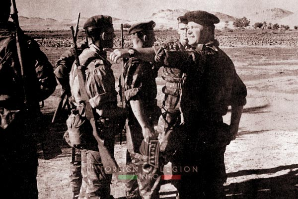 3e CSPL - 3 CSPL - training - instruction - Algeria - Foreign Legion Etrangere - 1962