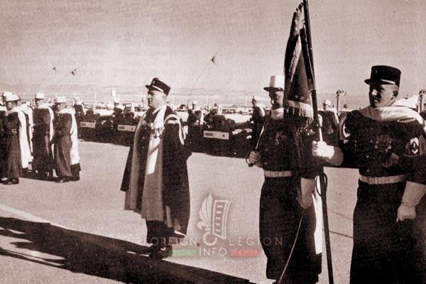 3e CSPL - 3 CSPL - Raymond Bureau - Fanion Guard - Algeria - Foreign Legion Etrangere - 1962