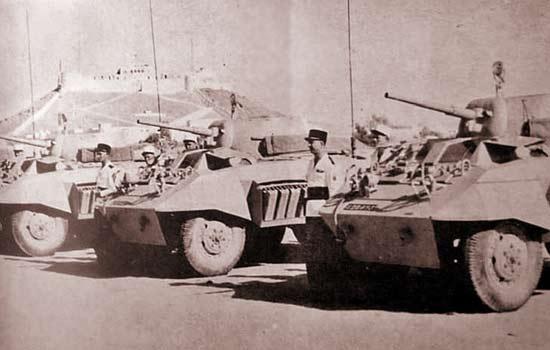 3e CSPL - 3 CSPL - AMM8 - M8 Greyhound - Sebha - Fort Leclerc
