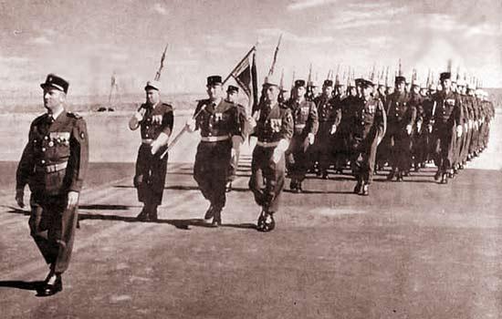 3e CSPL - 3 CSPL - Parade 1962 - Laghouat