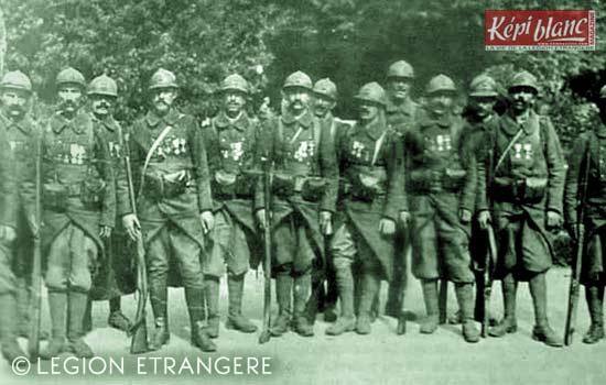 RMLE - Régiment de Marche de la Légion Etrangère - 1916