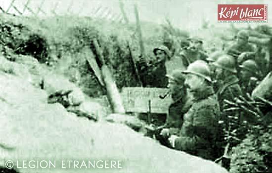RMLE - Régiment de Marche de la Légion Etrangère - 1918