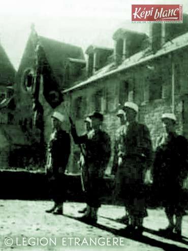 RMLE - Régiment de Marche de la Légion Etrangère - Legion - 3 REI - 1945