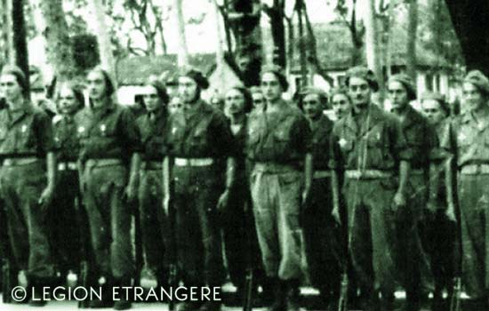 3 REI - 3REI - 3rd Foreign Infantry Regiment - 3rd REI - Indochina 1948 - Parachute Company