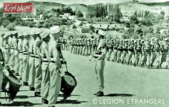3 REI - 3REI - 3rd Foreign Infantry Regiment - 3rd REI - Arris 1955