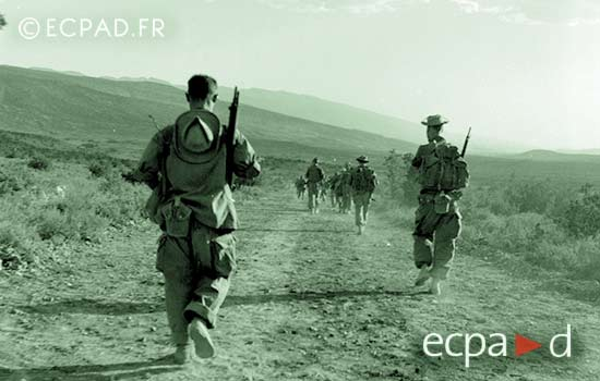 3 REI - 3REI - 3rd Foreign Infantry Regiment - 3rd REI - El Hara 1955