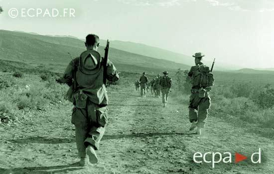 3 REI - 3REI - 3rd Foreign Infantry Regiment - 3rd REI - El Hara 1955