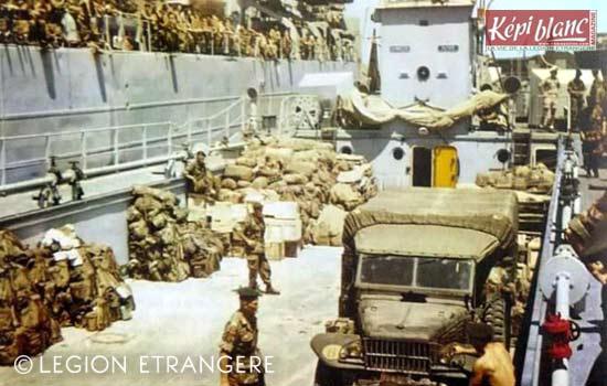 3 REI - 3REI - 3rd Foreign Infantry Regiment - 3rd REI - Bizerte 1962